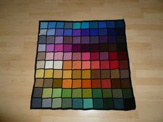 katielucie's Palette 100 Color Blanket