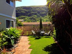 Read a book, enjoy a meal, or stargaze - the outdoor lifestyle of Hawaii. Your outdoor space is over 600 square feet. Hawaiian Homes, True Homes, Like A Local, Home And Away, Hawaii Travel, Stargazing, Square Feet, Perfect Place, The Neighbourhood