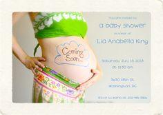lamarmotacafe: design a sweet, custom 4x6 baby shower invitation for $5, on fiverr.com
