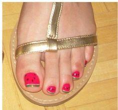Watermelon nail art #summer