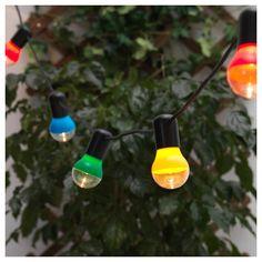 Solvinden Lichterkette 12 Led Batteriebetrieben Für Draußen