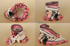 Reservados listado Amber y rosas ganchillo del pun por ellisaveta