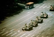 Twenty years ago, on June 5, 1989, following weeks of huge protests in Beijing and a crackdown that resulted in the deaths of hundreds, a lone man stepped in front of a column of tanks rumbling past Tiananmen Square. The moment instantly became a symbol of the protests as well as a symbol against oppression worldwide — an anonymous act of defiance seared into our collective consciousnesses.  To this day, the identity and fate of the man in the picture remain unclear. A riveting documentary…
