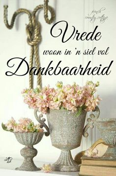 Goeie Nag, Afrikaans, Picture Quotes, Beautiful Images, Diy And Crafts, Place Card Holders, Creative, Thankful, Journey