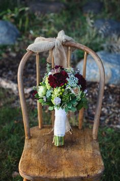 Fall Rustic Wedding Bouquet