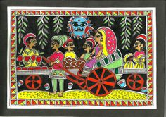 CrazyLassi's Madhubani Art Practice and Research Blog