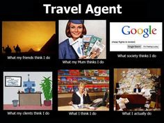 GOGO Vacations loves travel agents! We thought this was hilarious