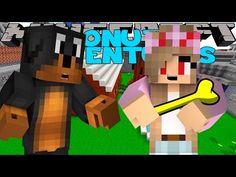 Minecraft - Donut the Dog Adventures - EVIL LITTLE KELLY STEALS GOLDEN BONE - YouTube