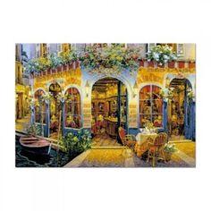 inShop webáruház > Educa Viktor Shvaiko, Au Bon Charbot puzzle, 1500 darabos