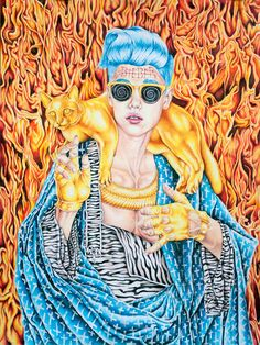 """I love this piece!""""Justin Bieber and the Golden Pussy"""" by Cahill Wessel"""