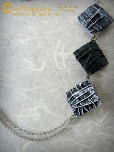 """Nuove collane e bracciali della linea """"Intrecci"""" : ARCOBALENO - ACQUA, ERBA, CIELO - INVERNO ~ CartEssenza"""