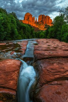 I'v been there and seen this. Sedona AZ