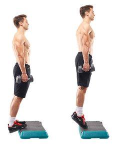 Slow Standing Leg Lifts