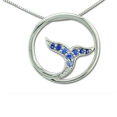 14K White Gold Graduated Blue Sapphire/Diamond Whale Tail Pendant Collection: Sapphire Collection Enhancement: Heated Total Weight: 0.02 ct Main Gemstone: Blue Sapphire Total Gem Weight: 0.20 ct Metal Type: 14K White Gold Other metals available Accent Stone: Diamond (3) All dimensions and weights are approximate. Note: Price does not include chain, unless otherwise noted. Images show jewelry design, but may not represent the actual gemstone, each gemstone varies slightly in color. Natural Opals Sapphire Diamond, Blue Sapphire, Fish Ring, Whale Tail, Natural Opal, Types Of Metal, Heart Ring, Jewelry Design, White Gold