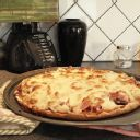 Gluten-Free Pizza Crust (cornstarch, rice flour, eggs) - this was pretty good; will make again