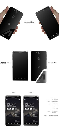 For everyone else there's the ASUS ECCHELLON X One. ASUS Phone Mobile #Technology YankoDesign #Swagnologies