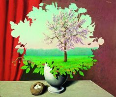 Le Plagiat, Rene Magritte.  Art Experience NYC  www.artexperiencenyc.com/social_login/?utm_source=pinterest_medium=pins_content=pinterest_pins_campaign=pinterest_initial
