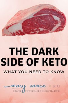 """The Dark Side of Keto Have you been seduced by the ketogenic's diets benefits? Quick weight loss, a buff bod, and enhanced cognition are some positives from """"going keto,"""" but at what cost? Like everything that's too good to be true, keto has a dark side. Diet Ketogenik, Ketogenic Diet Meal Plan, Ketogenic Diet For Beginners, Diets For Beginners, Keto Meal Plan, Diet Meal Plans, Ketogenic Recipes, Diet Recipes, Diet Tea"""