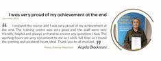 Thank you Angela! Training Center, Proud Of Me, Career, Student, Sayings, Carrera, Lyrics, Quotations, Idioms