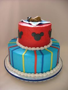 Mickey Mouse Baby Shower By Cargal on CakeCentral.com