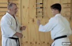 Gekisai Dai Ichi application - Kyoshi Mike Clarke (8th dan Goju-ryu)