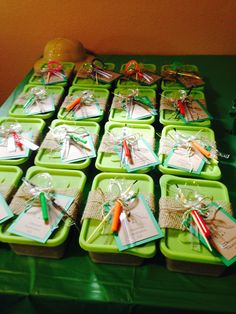 Dinosaur excavation kits - dinosaur party favors