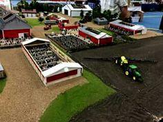 1 64 scratch custom kmc 3376 peanut harvester combine farm for 1 64 farm layouts