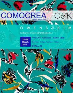 Fashion & Textile Design Blog | Owens & Kim