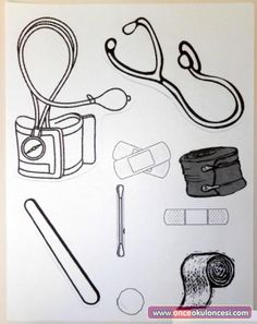 5 Best Images of Doctor Kit Printables For Preschool - Preschool Doctor Worksheets Printable, Doctor Bag Craft Template and Preschool Doctor Theme Community Workers, School Community, Human Body Crafts, Community Helpers Crafts, Kindergarten, Sunday School Crafts, Preschool Activities, Space Activities, Bible Crafts