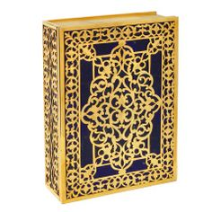 Wonderful Luxury lapis and silver goldplated box