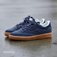 Reebok Club C 85 TG bordeaux Chaussures Baskets homme