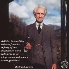 Thank you, Professor Russell. Thank you for helping to free me.