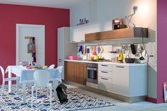 Μοντερνα επιπλα κουζινας Veneta Cucine  - μοντελο START Corner Desk, Table, Furniture, Home Decor, Corner Table, Decoration Home, Room Decor, Tables, Home Furnishings