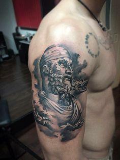 decebalus tattoo. dacian.  decebal tattoo