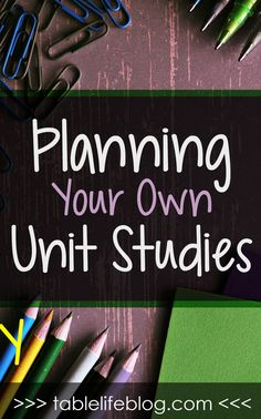 Lookingto explore a new topic with your kids or dive deeper into an area of interest? A homeschool unit study may be exactly what you need!