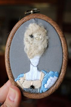 Marie Antoinette Embroidery by The artist formerly known as Sinner G