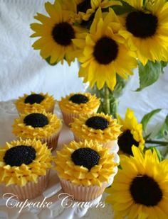 Sunny Day Cup Cakes I have to make these!!!!
