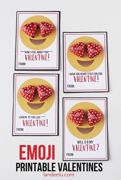 Free+Emoji+Printable+Classmate+Valentines+via+Landeelu+-+perfect+for+teens+and+tweens+who+love+their+emoticons!+These+will+be+the+talk+of+the+classroom.