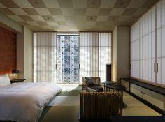 Hotel Hoshinoya: un bain thermal au coeur de Tokyo 4 Karuizawa, Kyoto, Japanese Apartment, Days Hotel, Tokyo Hotels, Wallpaper Magazine, Japanese Interior, Beautiful Interiors, Decoration