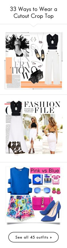 """""""33 Ways to Wear a Cutout Crop Top"""" by polyvore-editorial ❤ liked on Polyvore"""