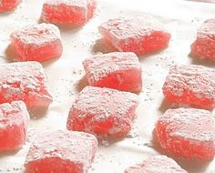 All Our Fingers in the Pie: Rhubarb Turkish Delight Rhubarb Desserts, Just Desserts, Delicious Desserts, Yummy Food, Rhubarb Rhubarb, Healthy Rhubarb Recipes, Rhubarb Ideas, Rhubarb Pudding, Rhubarb Bars