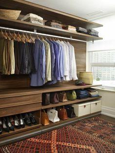aménager un dressing, loft dressing original | Dressing | Pinterest ...