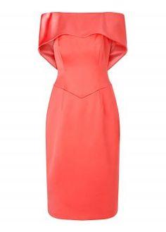 Lorcan Bardot Bow Back Dress