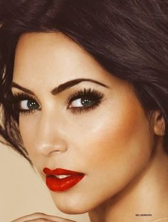 Red Lips (Source: Unknown) @ http://www.ModernRani.com
