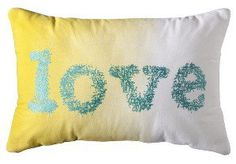 #Target                   #love                     #Xhilaration� #Love #Decorative #Pillow #Citron/Turquoise                     Xhilaration� Love Decorative Pillow - Citron/Turquoise                                                  http://www.seapai.com/product.aspx?PID=869028