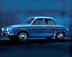 Renault Dauphine Gordini - 1966 Maintenance/restoration of old/vintage vehicles: the material for new cogs/casters/gears/pads could be cast polyamide which I (Cast polyamide) can produce. My contact: tatjana.alic@windowslive.com