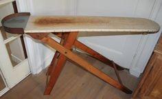 oude, houten strijkplank