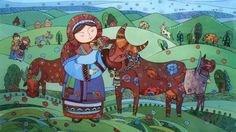 Коровка. Автор: Натали Курий-Максымив.
