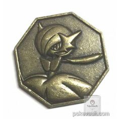Pokemon 2016 Metal Collection XY&Z #2 Mega Gardevoir Coin (Bronze Version)