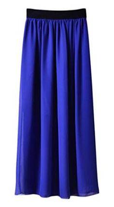 Maxi falda brillante, encuentra más modelos de esta prenda aquí...http://www.1001consejos.com/top-10-maxi-faldas/